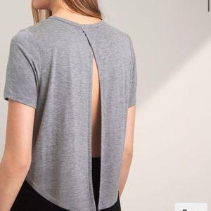 Aritzia Open Back T-shirt